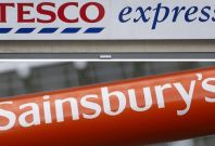 Tesco Sainsbury\'s