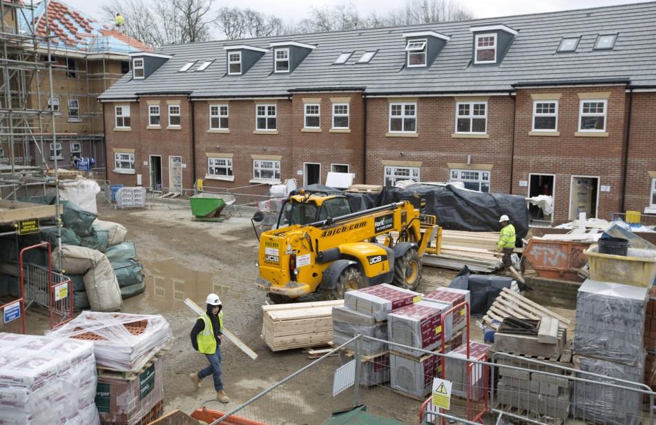 UK construction hoousebuilding
