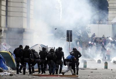 Rio de Janeiro police clashes