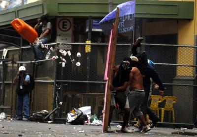 Rio de Janeiro teachers strile