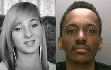 Christina Edkins (L) was stabbed to death by Phillip Simelane on a bus in Birmingham (West Midlands Police)