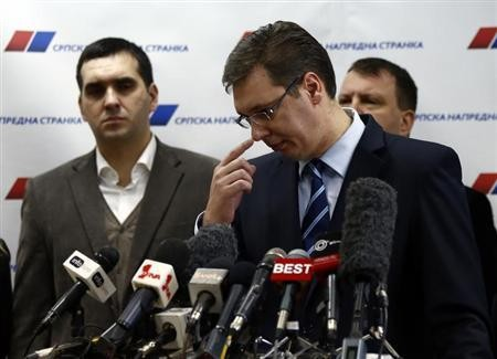 Serbia's First Deputy Prime Minister Aleksander Vucic (File Photo: Reuters)