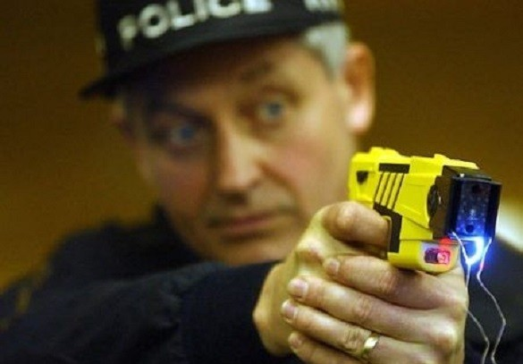 Police used Taser stun gun at OAP in Leicestershire