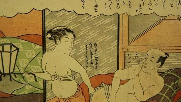Japanese sex comic books