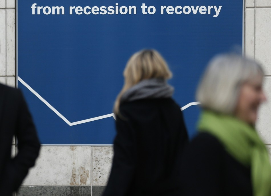 UK recession recovery