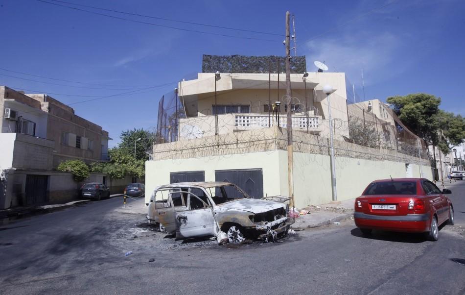 Libya embassy russia