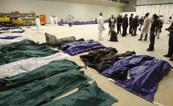 Italy Lampedusa boat sinking