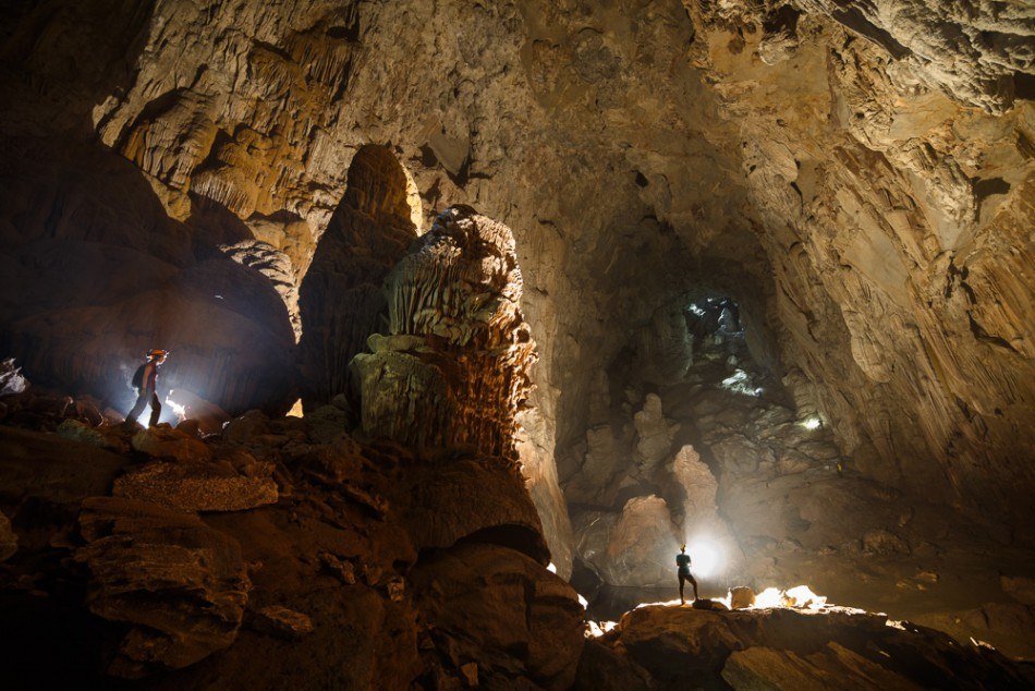 Vietnam's Son Doong Cave can fit skyscrapers (Photo: Oxalis)