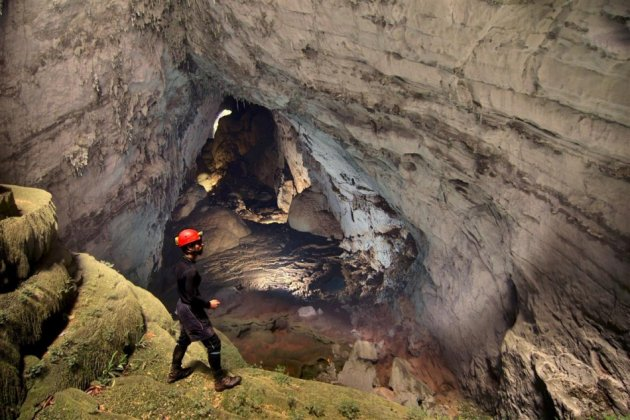 Called Hang Son Doong in Vietnam, the cave was formed two to five million years ago. (Photo: Oxalis)