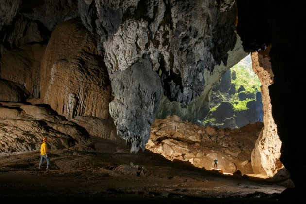 The Son Doong Cave is located near the Laos-Vietnam border. (Photo: Oxalis)