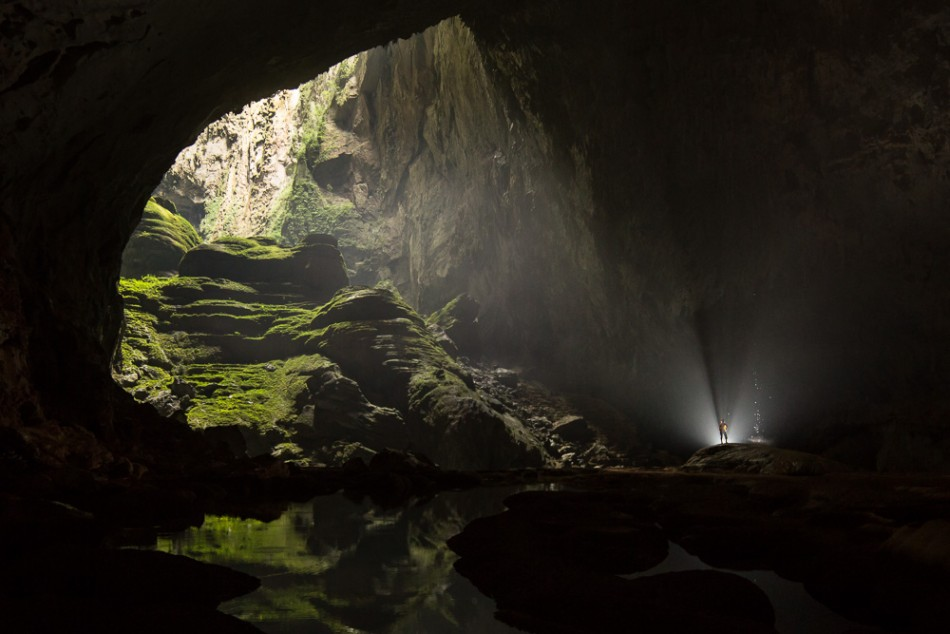 The Son Doong Cave in Vietnam has a world of its own comprising of a forest, a river and a complete ecosystem. (Photo: Oxalis)
