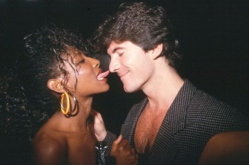Sinitta and Simon Cowell