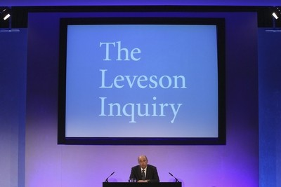 Miliband referenced Leveson inquiry