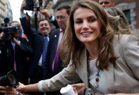"""Princess Letizia during """"Fiesta de la Banderita"""" in Madrid. (Photo: REUTERS/Susana Vera)"""