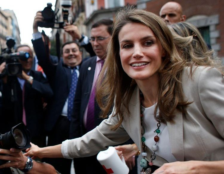 Princess Letizia during