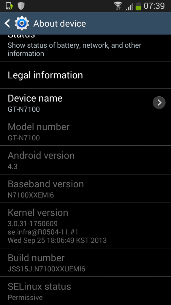 Galaxy Note 2 Gets Android 4.3 with N7100XXUEMI6 Leaked Test Firmware [How to Install]