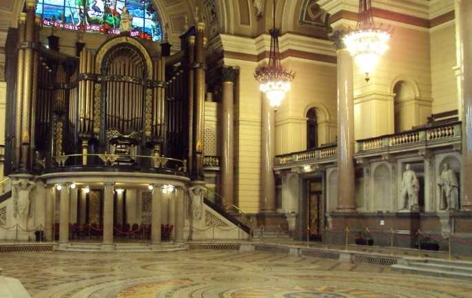 St George's Hall has spectacular interiors perfect for nuptials PIC: Wikicommons