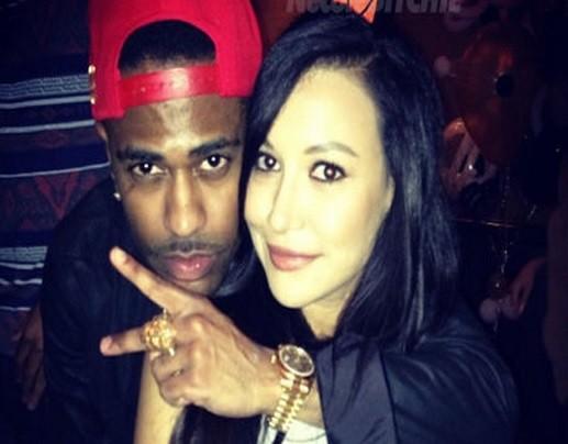 Rapper Big Sean and Glee actress Naya Rivera