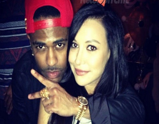 Rapper Big Sean and Glee actress Naya Rivera