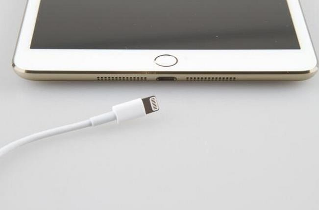 Gold iPad mini 2 with Touch ID