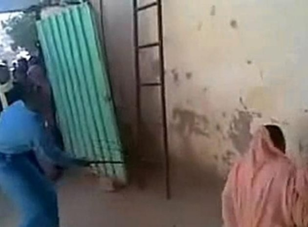 Sudan woman lashed