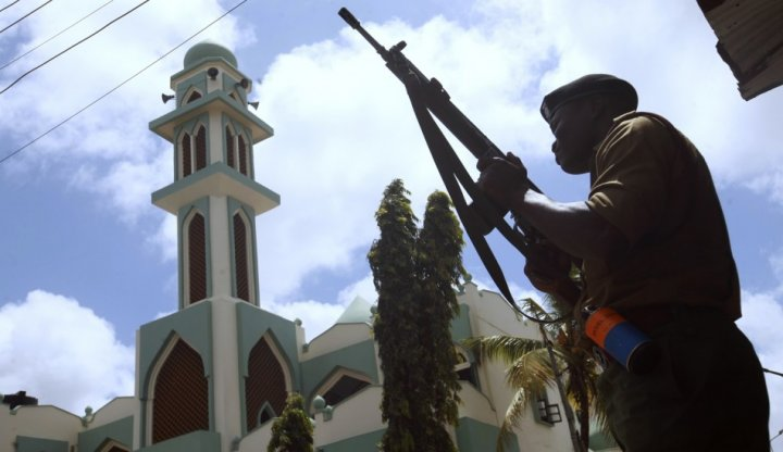 Mombasa church violence