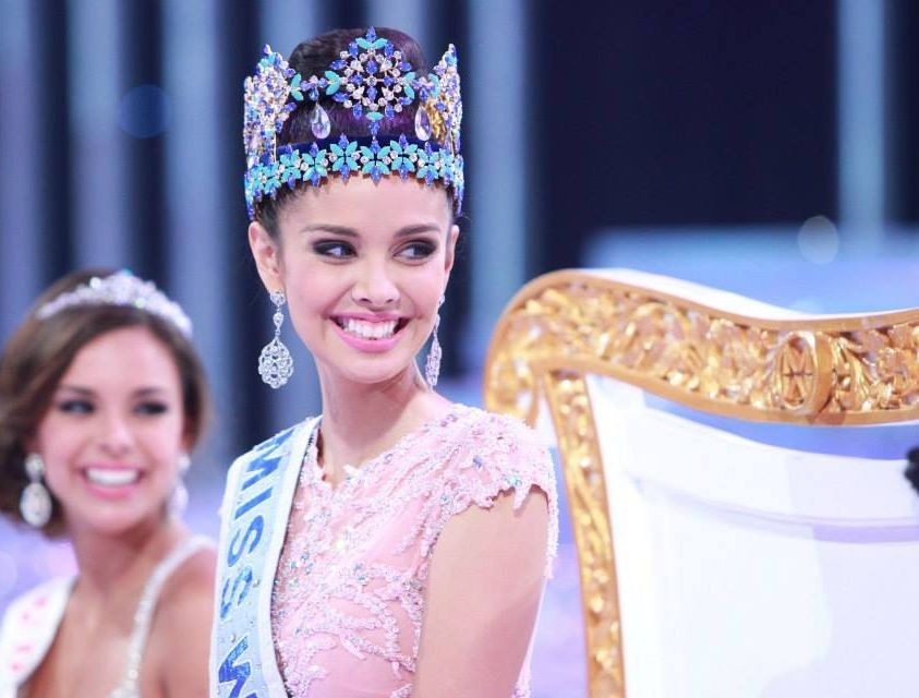 In her first official interview since winning Miss World crown, Megan Young of Philippines talks about her wish to attend Cannes Film Festival and her long-cherished dream to see the Queen's palace. (Photo: Miss World Organisation)