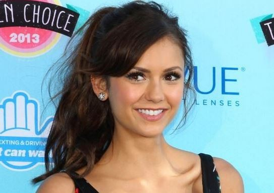 Vampire Diaries star Nina Dobrev has posed topless to promote and show her support for President Barack Obama's Affordable Care Act (ACA).(Reuters)