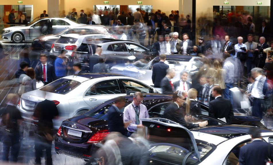 New car sales in UK hit five and a half year high PIC: Reuters