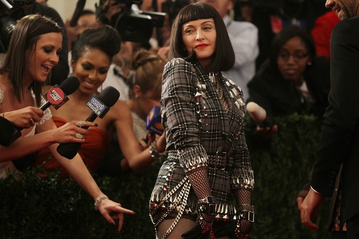Singer Madonna at the Metropolitan Museum of Art Costume Institute Benefit for the opening of
