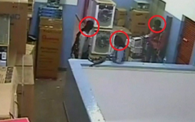 Attackers filmed during Westgate shopping centre seige