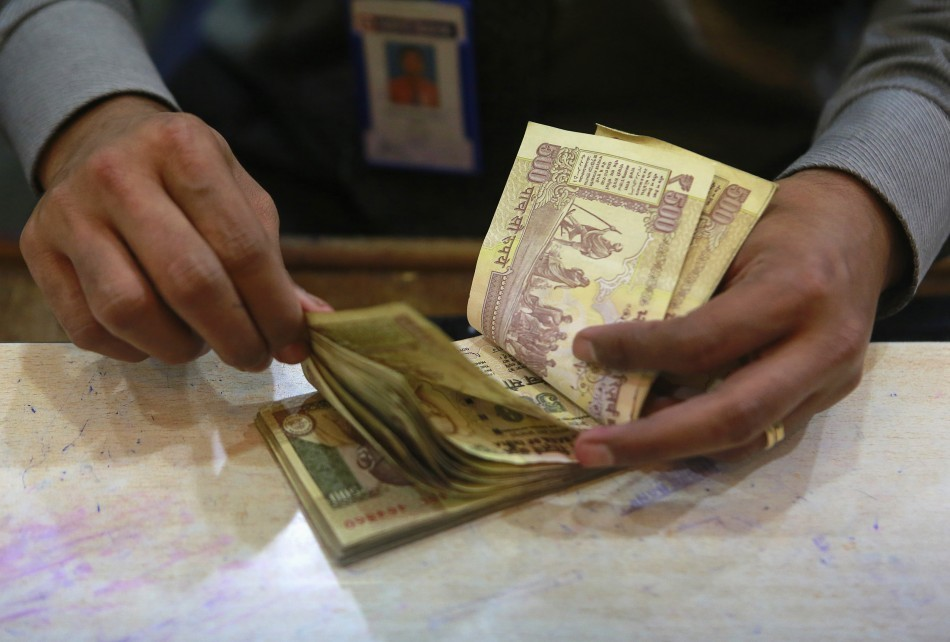 Indian rupee currency notes