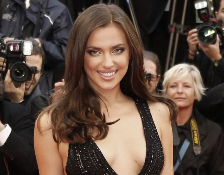 Russian supermodel Irina Shayk poses topless for the tenth anniversary issue of Vman magazine. (Reuters)