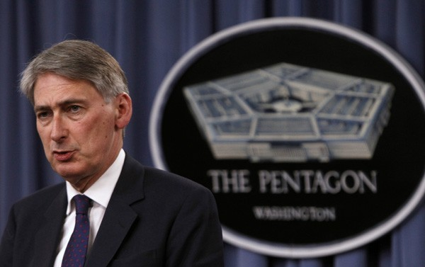 UK defense secretary Philip Hammond
