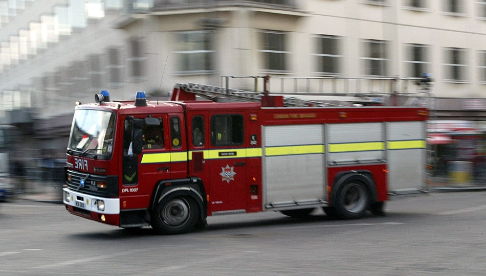 Firefighters are dealing with 'Fifty Shades' effect as well as putting out fires PIC: Reuters