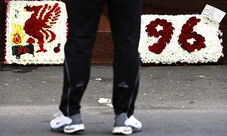 Ninety-six Liverpool football fans died at Hillsborough on 15 April 1989 (Reuters)