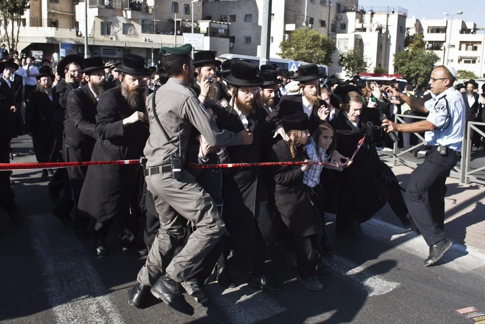 Rabbi Ovadia Yosef funeral security