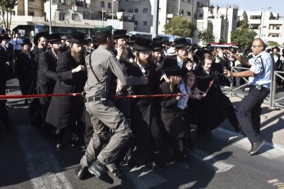 Rabbi Ovadia Yosef funeral security