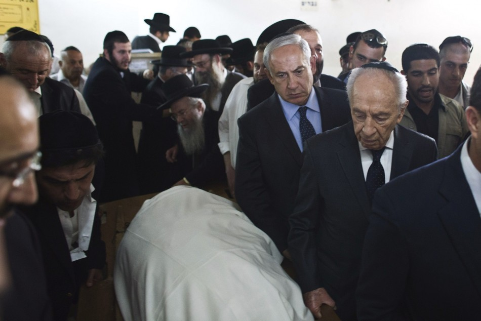 Rabbi Ovadia Yosef Netanyahu Peres