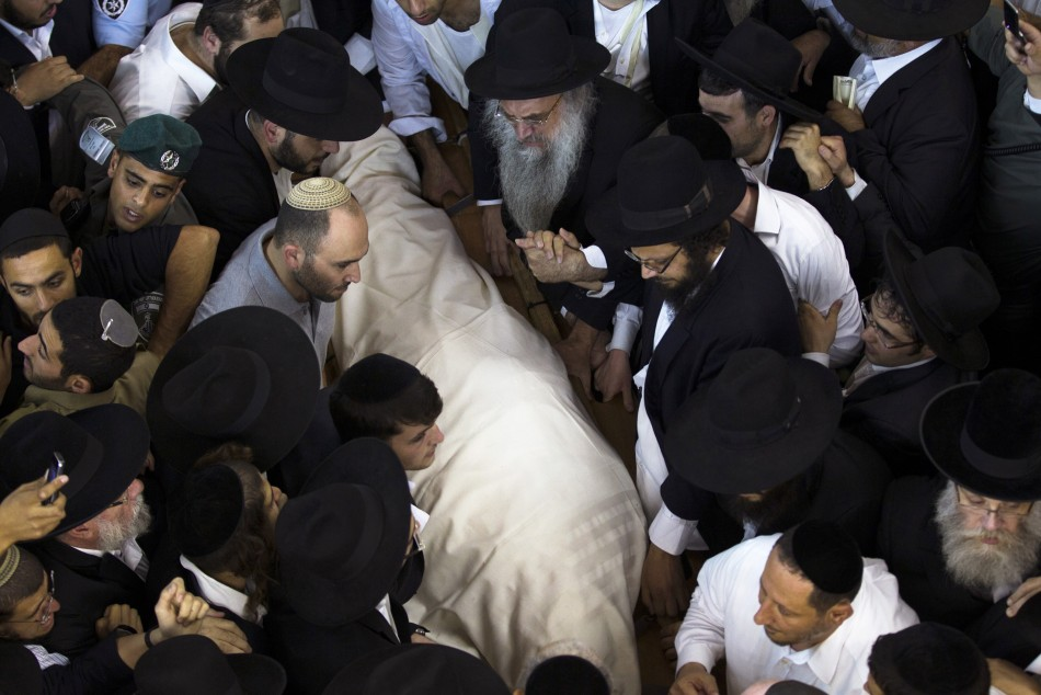 Rabbi Ovadia Josef funeral