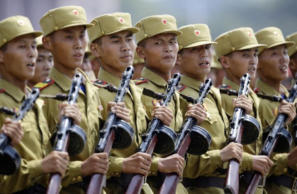 North Korean army on high alert