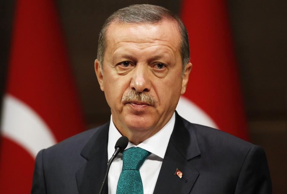 Recep Tayyip Erdogan labels Assad a 'terrorist'