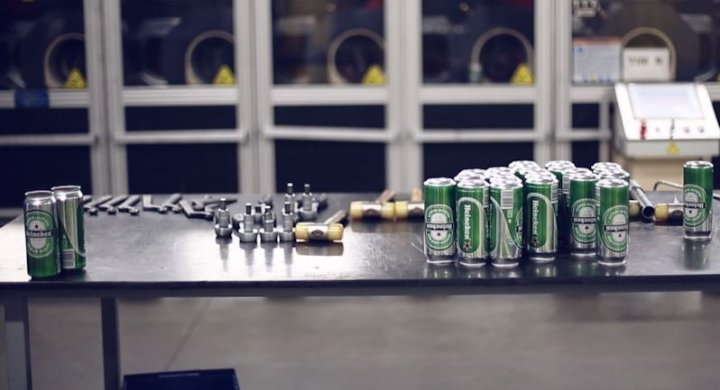Ball Packaging Europe makes cans for big clients such as Heineken, Pepsi and SAB Miller (Photo: IBTimes UK)