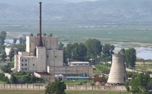 North Korea's Yongbyon nuclear reactor