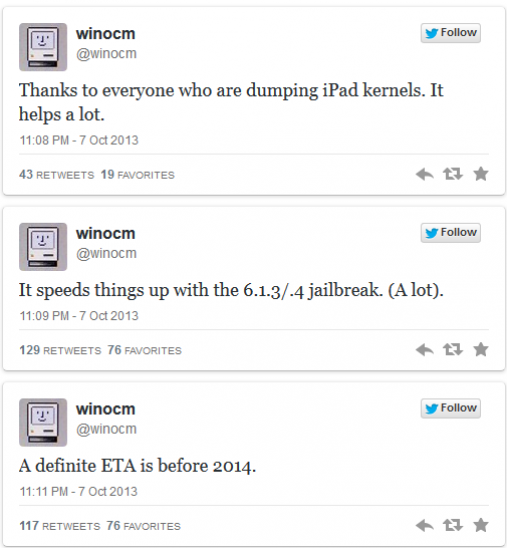 iOS 6.1.3/6.1.4 Untethered Jailbreak Status and ETA Revealed
