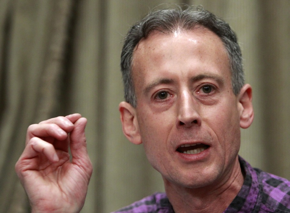 London-based LGBT campaigner Peter Tatchell