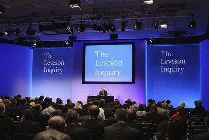 Leveson reported a year ago