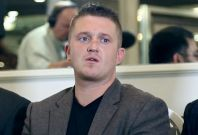 Tommy Robinson called on EDL supoprters to follow him out of the anti-Islamist group PIC: IBTimes UK