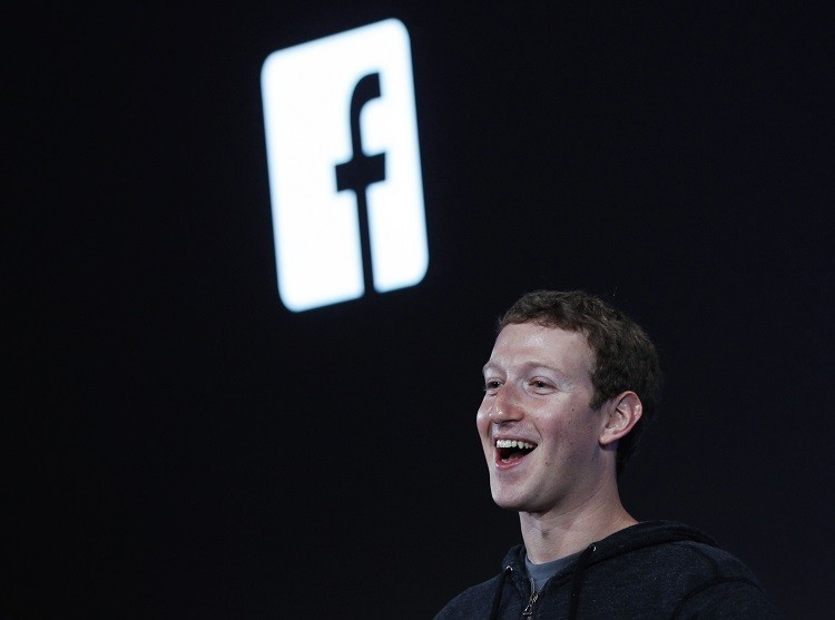 Facebook's founder and CEO Mark Zuckerberg at a recent event. The social network giant did not pay UK corporation tax in 2012 (Photo: Reuters)