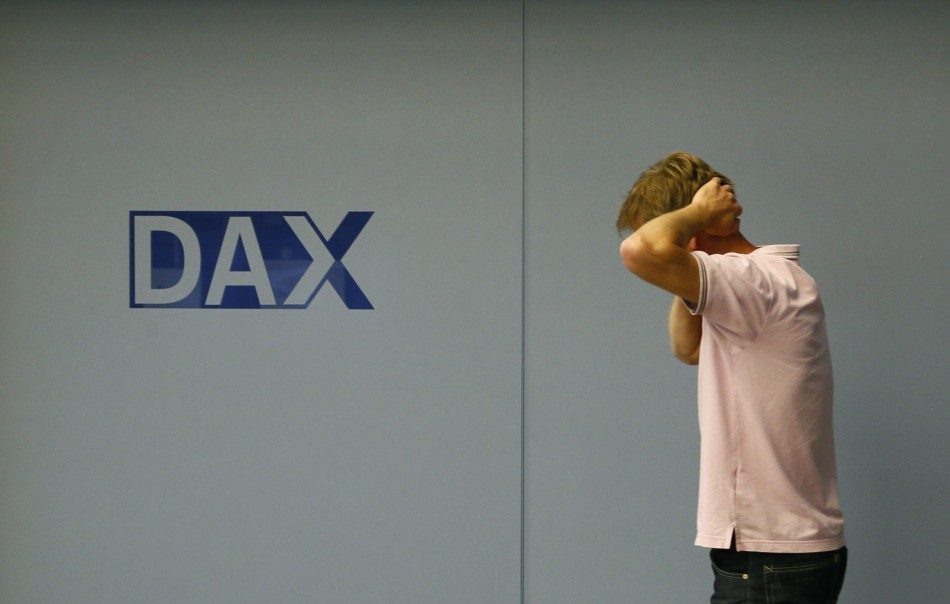 European markets outside Italy and Spain trade lower on 9 October